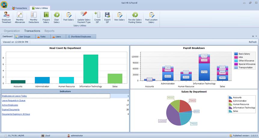 HR Payroll software distributor